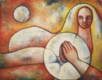 acrylic on canvas, 58x 72cm